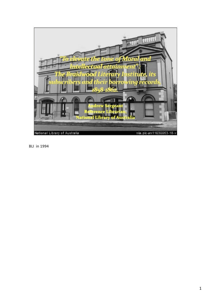 AndrewSergeant                   ReferenceLibrarian,               NationalLibraryofAustraliaBLIin1994            ...