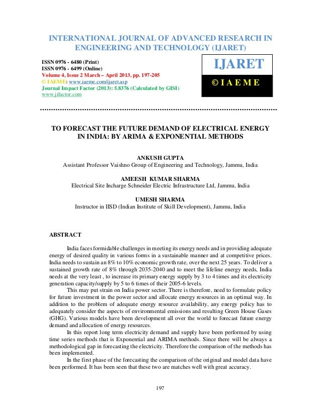 International Journal of Advanced Research in Engineering and Technology (IJARET), ISSN 0976 –6480(Print), ISSN 0976 – 649...