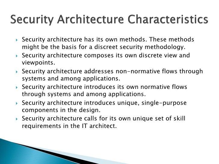 TOGAF 9 -  Security Architecture Ver1 0 Slide 2