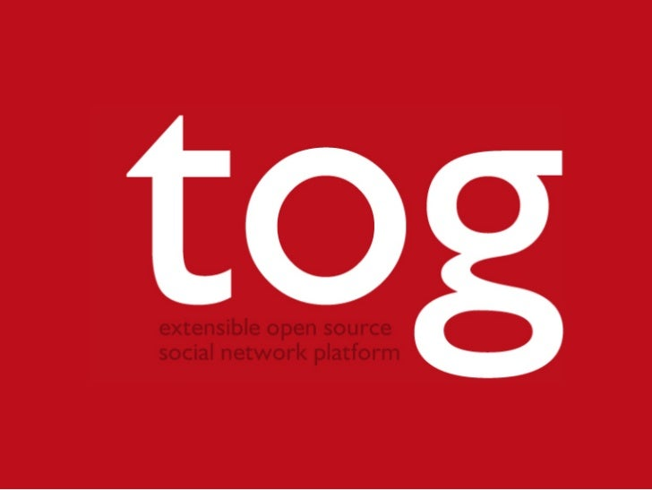 table of contents  about tog tog community coming next