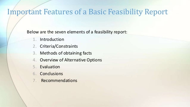 TYPES OF TECHNICAL REPORTS
