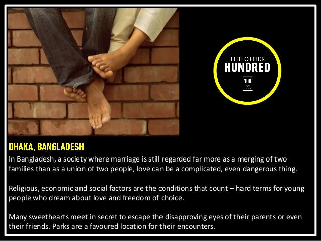 Arif Mahmud, 26 and Rashna, 21, both students at the University of Liberal Arts, have been together for two years. Their f...