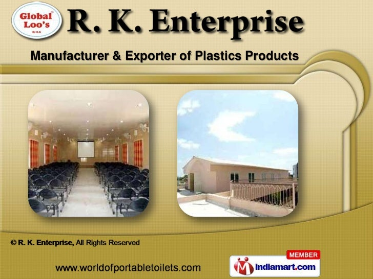 Manufacturer & Exporter of Plastics Products