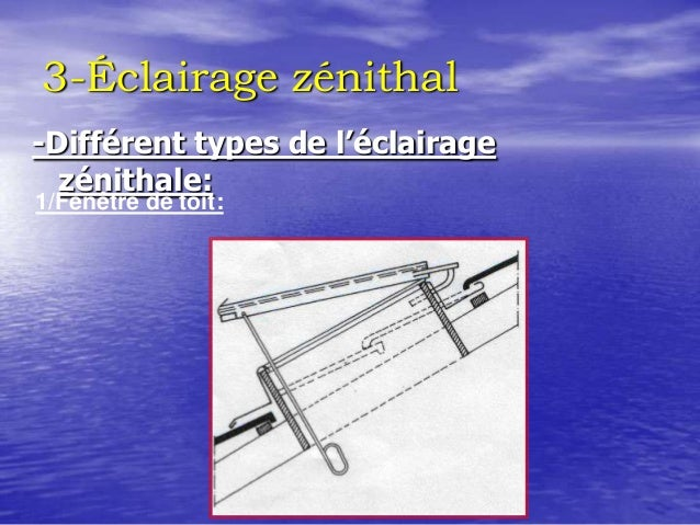 Toitures for Fenetre zenithale