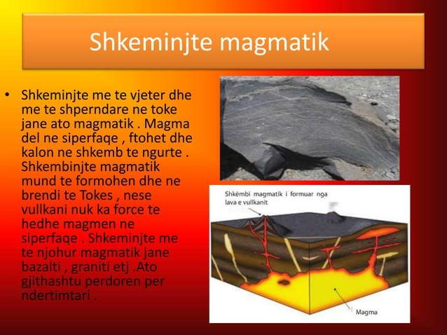 Shkembinjte sedimentar • Shkembinjte sedimentues krijohen me bashkimin e reres dhe argjilit . Ato precipitohen ne fundin e...