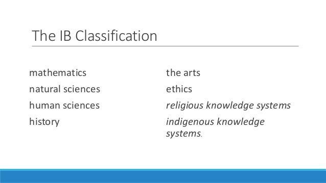 human sciences tok essay or dissertation rubric