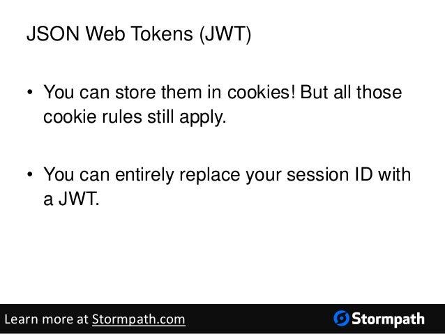 Json web token in java / Le bon coin immobilier champs sur yonne