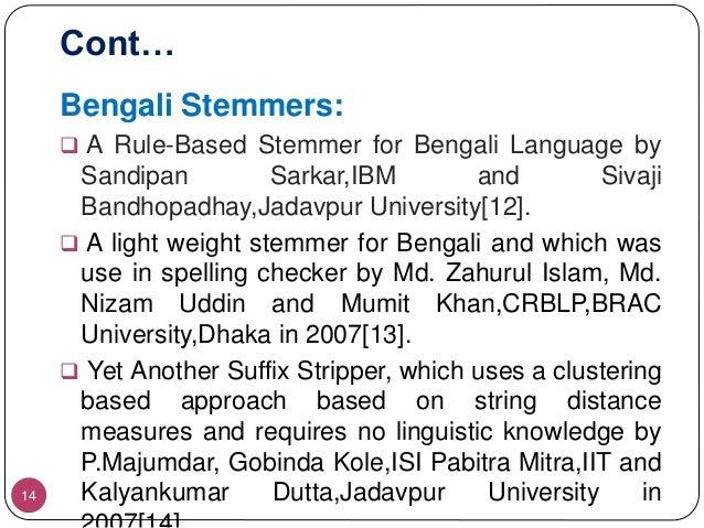 Token classification using Bengali Tokenizer
