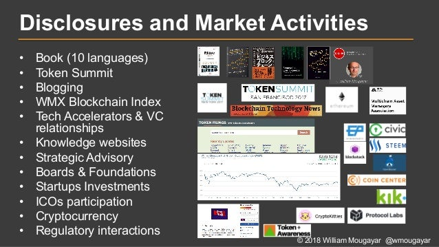 State of Tokens by William Mougayar - April 2018 Slide 2