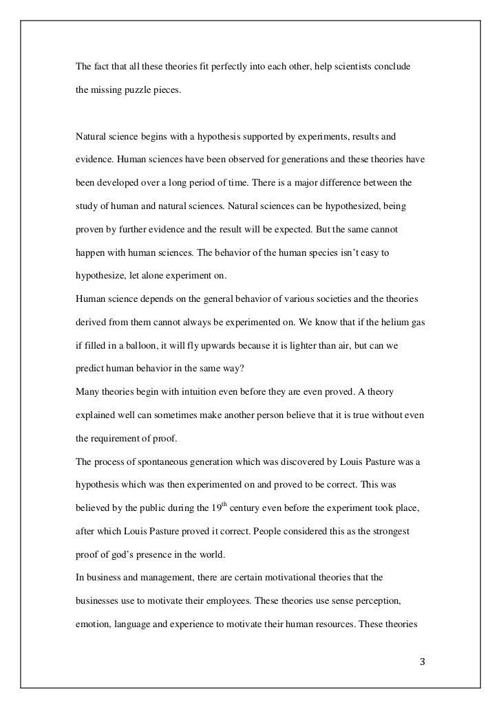 tok essay question  2 3