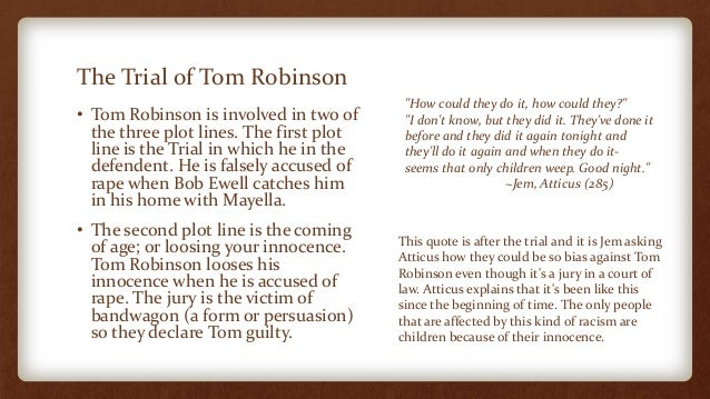 tom robinson trial quotes