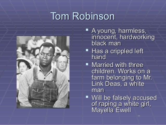 tom robinson physical description
