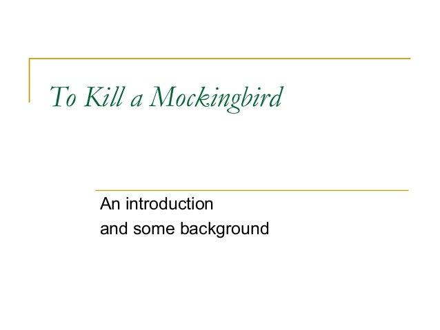 how to kill a mockingbird resume