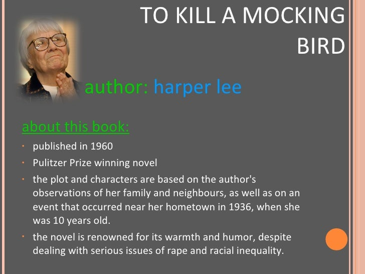To kill a mocking bird cliff