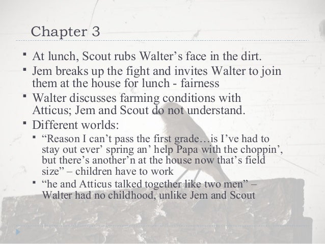 to kill a mockingbird chapter 4 short summary