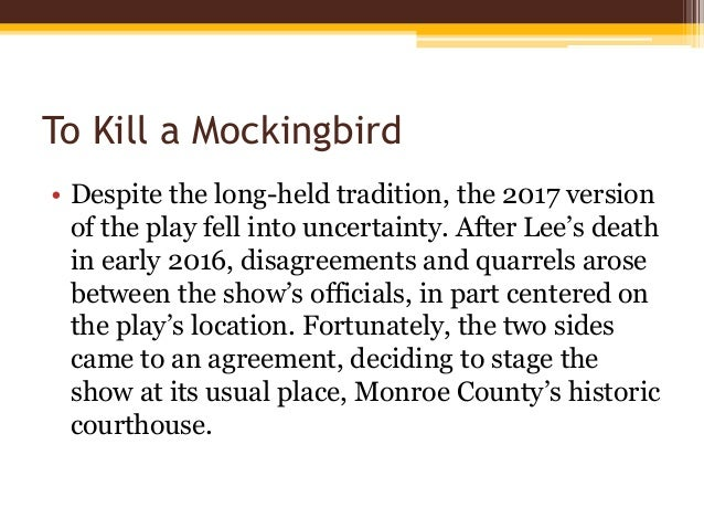 racism in the story of harper lees to kill a mockingbird Down the street from the lees lived a family  harper lee has a remarkable gift of story  asserts that to kill a mockingbird condemns racism instead.