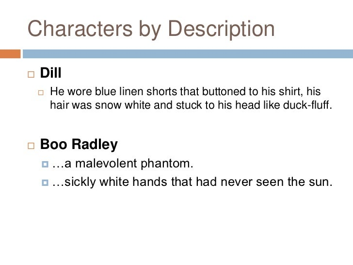 boo radley character traits
