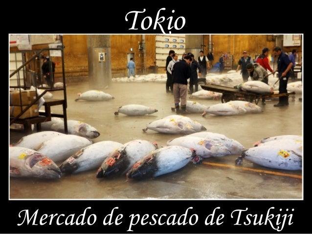 Tokio Mercado de pescado de Tsukiji