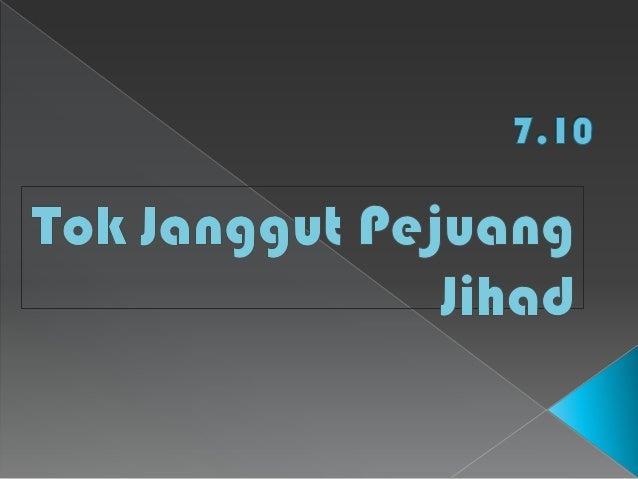  Nama asal Tok Janggut ialah Haji Mat Hassan bin Munas.  Beliau dilahirkan pada tahun 1853 di Kampung Jeram, Pasir Puteh...