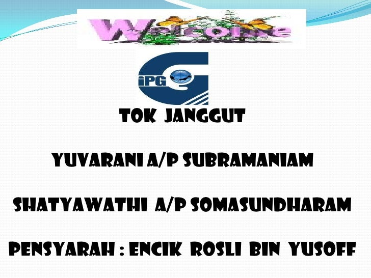 Tok Janggut Presentation