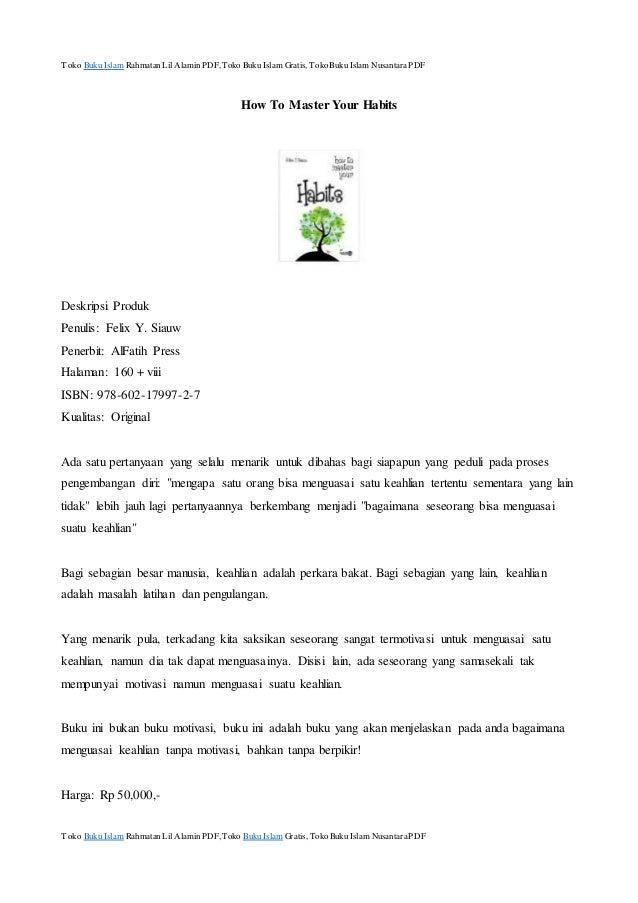 Buku Islam Gratis Pdf