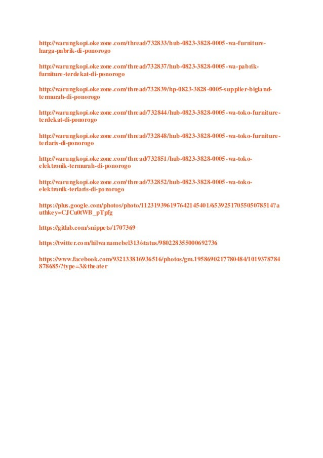 Toko Mebel Ter Dekat Di Ponorogo Hub 0823 3828 0005 Wa