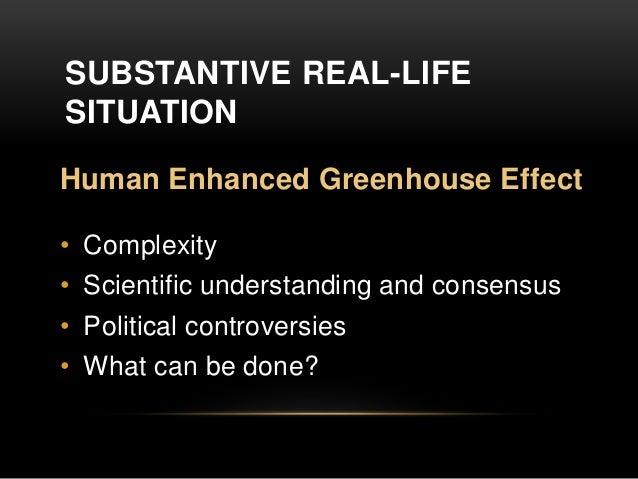 Oral presentation on global warming