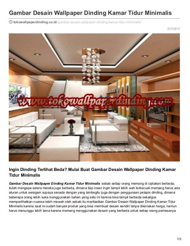 Tokowallpaperdinding Co Id Gambar Desain Wallpaper Dinding Kamar Tidu