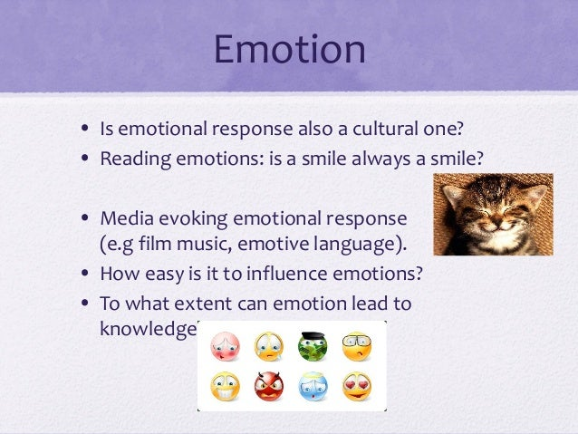 to what extent do reason emotion and language affect sense perception In one sense, emotions are a complete understanding of the emotions, it does not greatly affect the theories reason: emotion and its role.