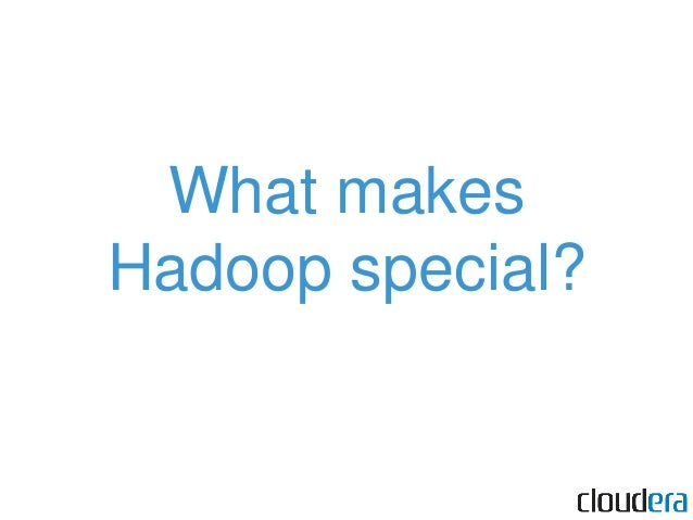 """Hadoop lets you interact with a cluster, not a bunch of machines. Image:Yahoo! Hadoop cluster [ OSCON """"07 ]"""