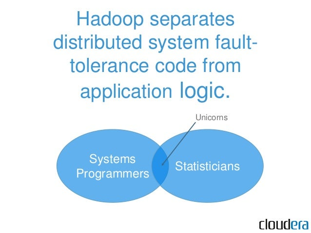 Hadoop scales linearly with data size or analysis complexity. Data-parallel or compute-parallel. For example: Extensive ma...