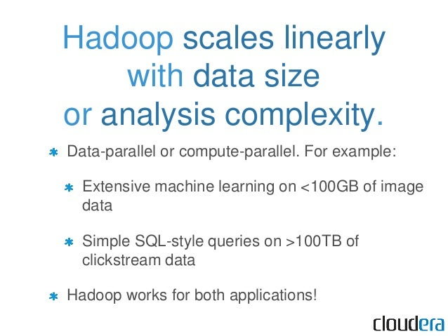 Hadoop sounds like magic. How is it possible?