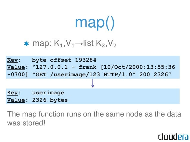 """The Shuffle Each map output is assigned to a """"reducer"""" based on its key map output is grouped and sorted by key"""
