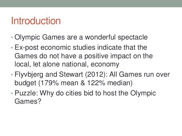 Essay about Olympic Games