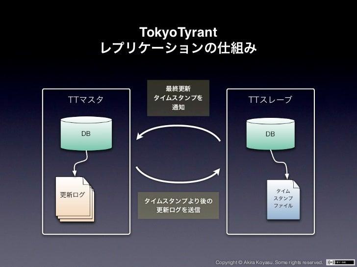 TokyoTyrant          Copyright © Akira Koyasu. Some rights reserved.