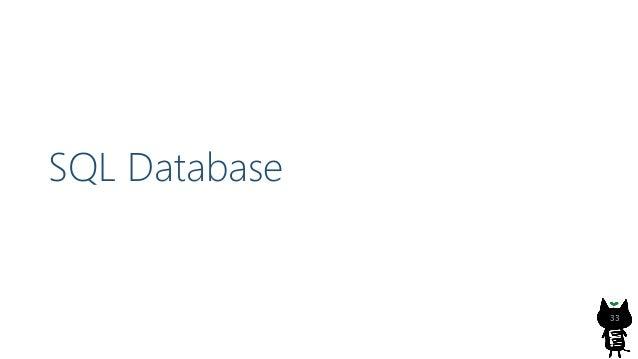 関連リンク 38 Get high-performance scaling for your Azure database workloads with Hyperscale https://azure.microsoft.com/en-us/...