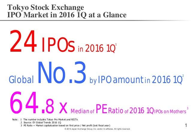 Ipo tokyo stock exchange