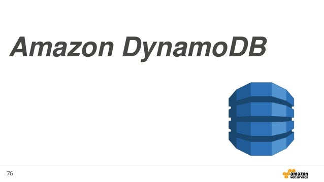 76 Amazon DynamoDB