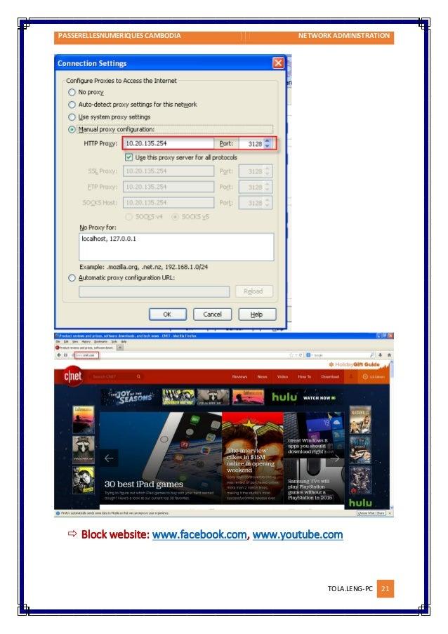 Configure proxy firewall on SuSE Linux Enterprise Server 11