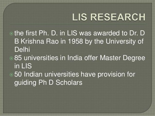 shodhganga phd thesis in library science Shodhganga : a reservoir of indian theses @ inflibnet shodhgangotri : repository of indian research in progress , shodhganga phd thesis.