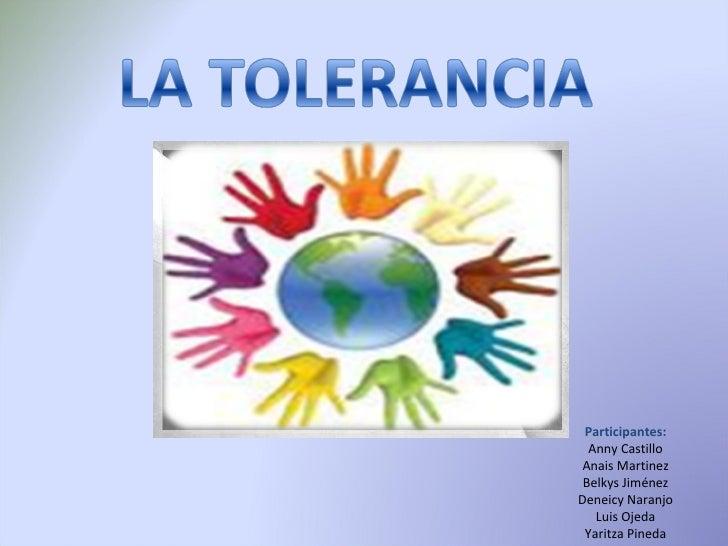 Participantes: Anny Castillo Anais Martinez Belkys Jiménez Deneicy Naranjo Luis Ojeda Yaritza Pineda