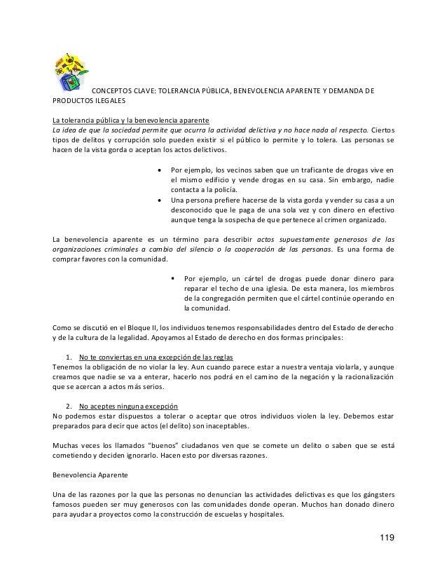 CONCEPTOS CLAVE: TOLERANCIA PÚBLICA, BENEVOLENCIA APARENTE Y DEMANDA DE PRODUCTOS ILEGALES La tolerancia pública y la bene...