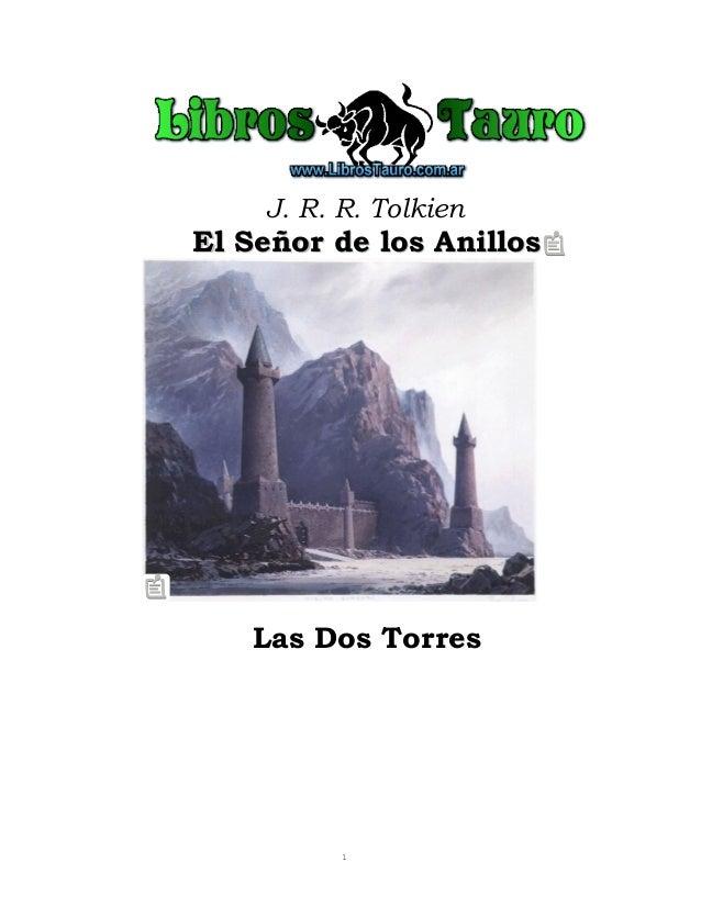 J. R. R. TolkienEl Señor de los AnillosEl Señor de los AnillosLas Dos Torres1