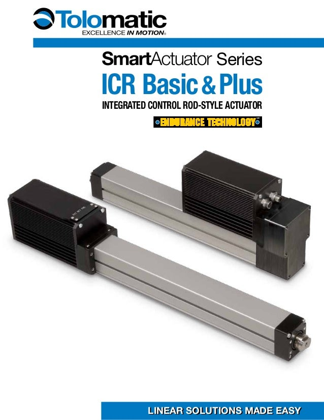 tolomatic smart actuator series icr basic plus brochure. Black Bedroom Furniture Sets. Home Design Ideas