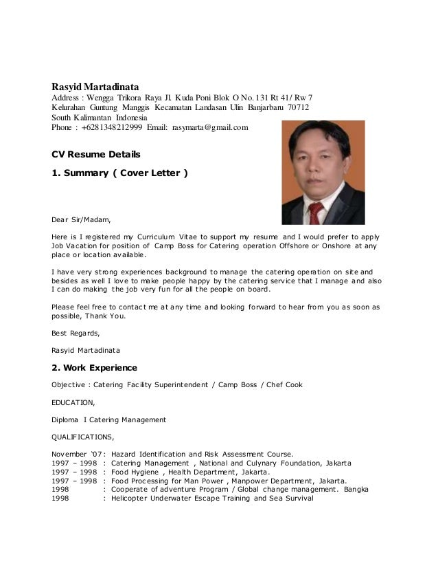 Rasyid Martadinata Address : Wengga Trikora Raya Jl. Kuda Poni Blok O No. 131 Rt 41/ Rw 7 Kelurahan Guntung Manggis Kecama...