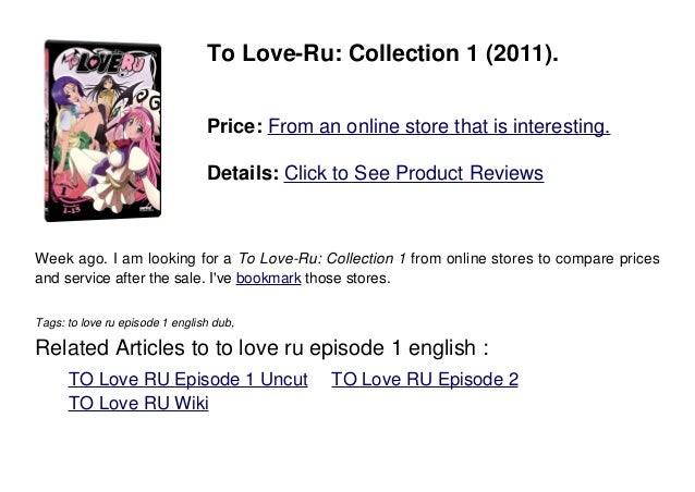 To love ru dub