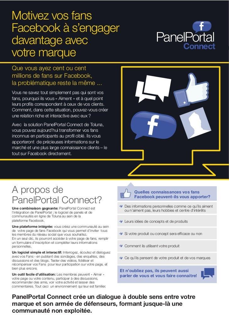 Motivez vos fansFacebook à s'engagerdavantage avec                                                                        ...