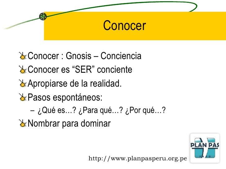 ANÁLISIS DE LA REALIDAD Y TOMA DE CONCIENCIA Slide 2