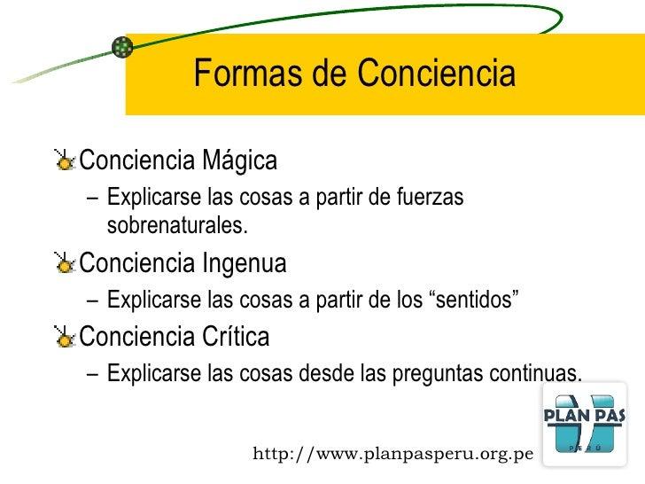 ANÁLISIS DE LA REALIDAD Y TOMA DE CONCIENCIA Slide 3