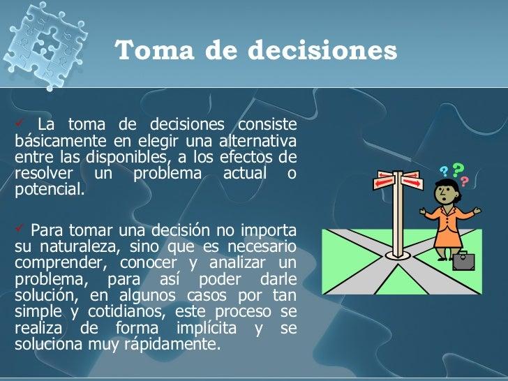 metodos de toma de decisiones pdf